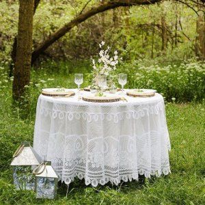 Romantic, easy and beautiful, this rustic outdoor rehearsal dinner idea from @fawn_parties  Click in in profile to shop this look and see more details! #rehersaldinner #outdoorweddingideas #rusticwedding #rusticdecor #romanticwedding #orientaltrading