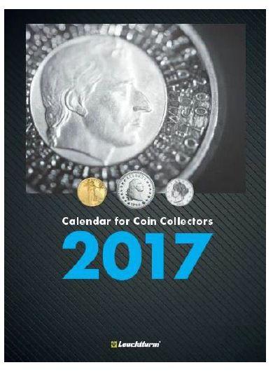 Το 1ο Νομισματικο Ημερολόγιο, 2017 Το ΠΡΩΤΟ Ημερολόγιο για  Συλλέκτες Νομισμάτων είναι ΓΕΓΟΝΟΣ! Πρόκειται για ένα εβδομαδιαίο ημερολόγιο και σημειωματάριο -και περιλαμβάνει επίσης πολλές ενδιαφέρουσες πληροφορίες και συναρπαστικές ιστορίες για τη συλλογή νομισμάτων. Το ημερολόγιο διαθέτει ένα εβδομαδιαίο ημερολόγιο στα αριστερά και μια αντίστοιχη σελίδα σημειωματάριου Κάθε ημέρα της εβδομάδας εχει δικό της χώρο, και για σημειώσεις. CoinsClubGreece