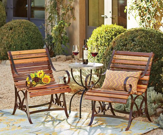 Captivating Parc Bistro Chairs, Napa Style
