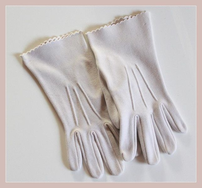 Vintage Stoff Handschuhe von *Coco Mademoiselle* auf DaWanda.com