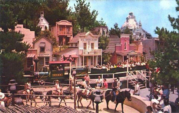 Mine Train through Nature's Wonderland, Frontierland, Disneyland, 1960(?)