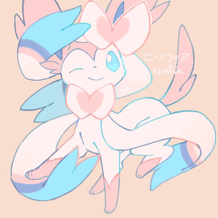 -->sylveon wins the fav fairy type Pokemon award. I know this type was just introduced but I like Sylveon. SInce I have a lot of respect for the Eeveelutions. Sylveon is one tough cookie. It's defense stats are pretty good and it's special attack isn't half bad either. Pair this with good moves and the right item and you have an adorable looking bad ass warrior.