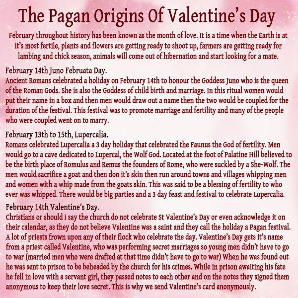 P A G A N Magick U2022°u2022 The Pagan Origins Of Valentineu0027s Day ☾