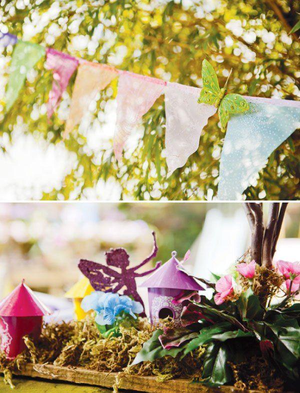 Inspiração: festa infantil mundo encantado das fadas