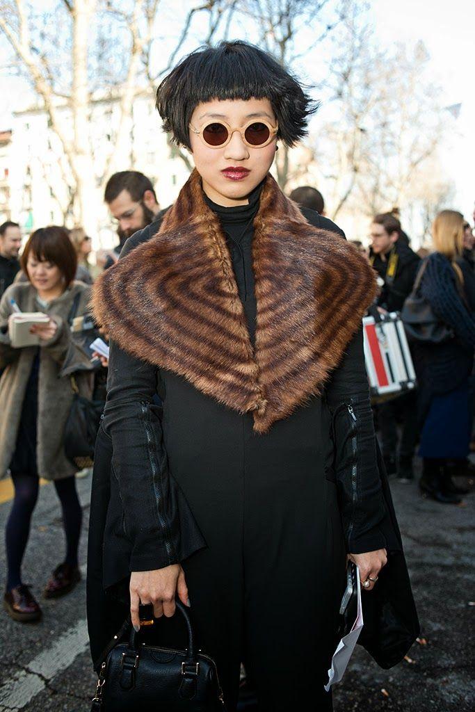 Cool Chic Style Fashion: On The street | Milano,street looks al Marni Show fall winter 2014/ 2015