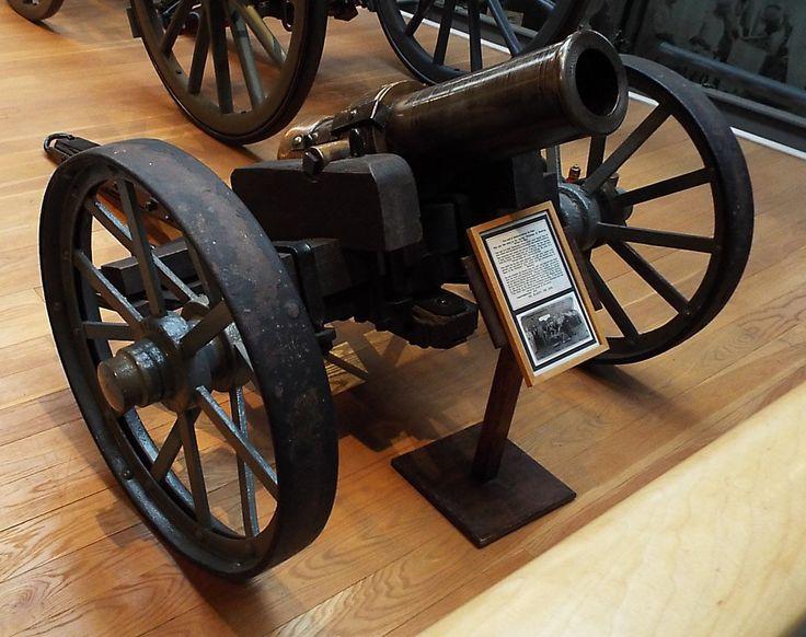 British 'Wolf' Siege of Mafeking Gun 1900 Firepower Museum