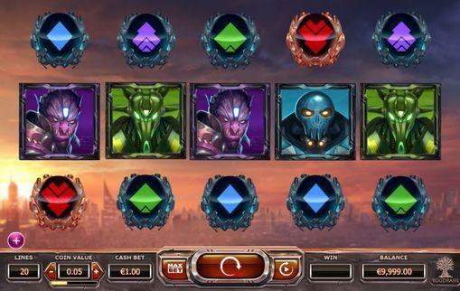 Игровой автомат Super Heroes на реальные деньги  Super Heroes – игровой онлайн автомат от Yggdrasil Gaming. Красивая анимация и развитая система бонусов делают игру на реальные деньги легкой и приятной. Тема этого аппарата посвящена супергероям.  Невероятные денежные выигрыши �