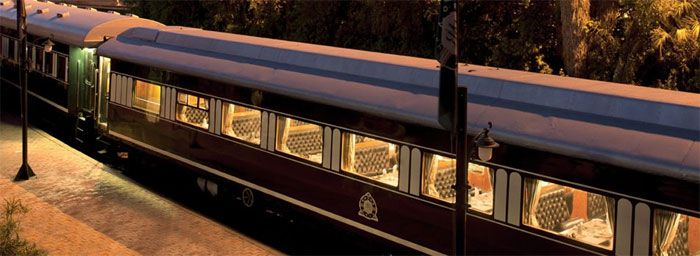 Szafari vonattal-Rovos Rail