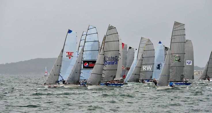 And they off and racing ATB Morton in front #atbmorton #16skiffchampionships2015