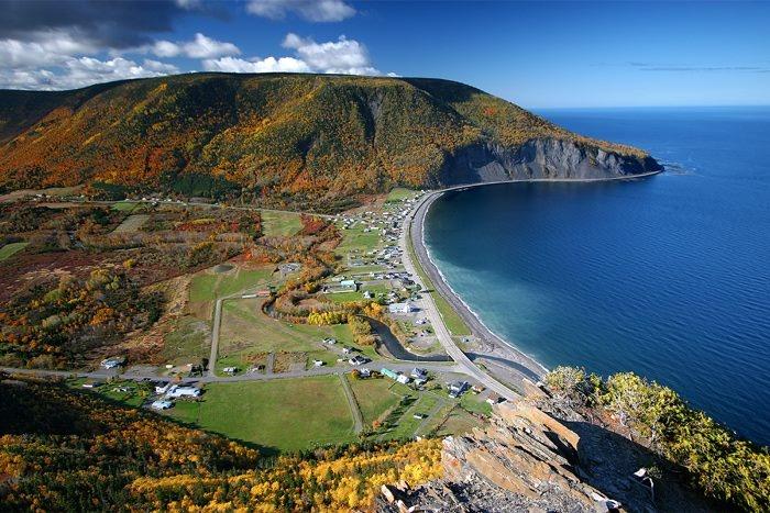 Mont St-Pierre, Gaspésie, Qc, Canada