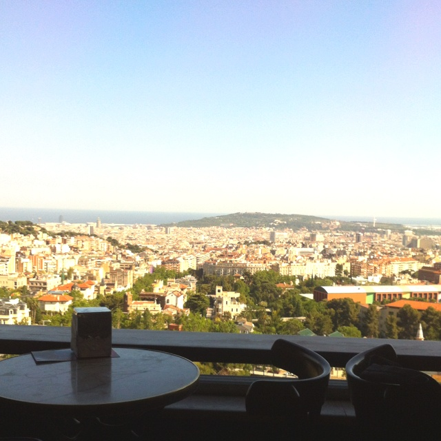 Barcelona - Mira Blau - drinks on the terrace - nothing more to say really