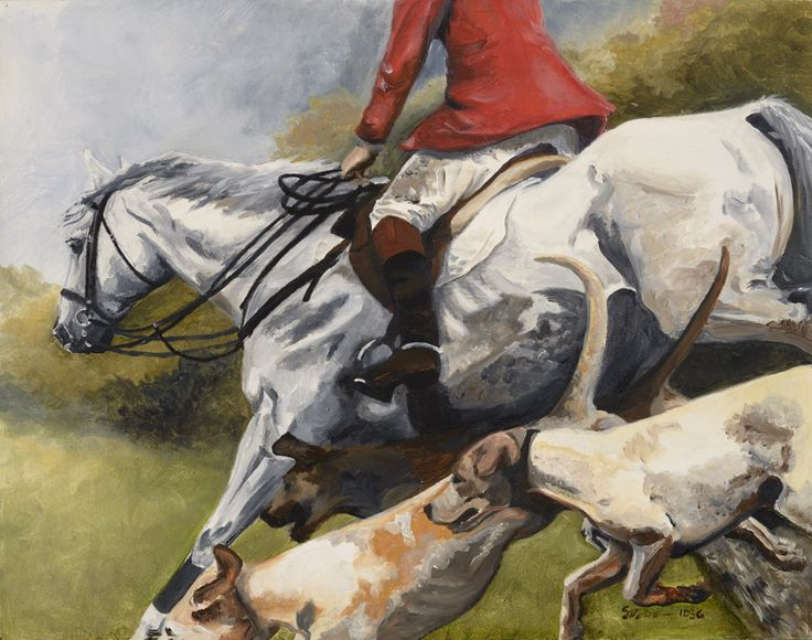 """""""The Hedge"""" by artist Suzanne Nielsen  www.artequine.com"""