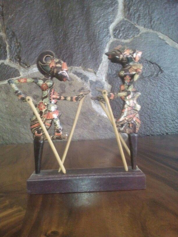 Puppet Batik Wood
