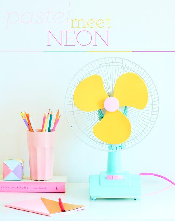 91 Magazine: Mrs. Pastel Meet Mr. Neon!