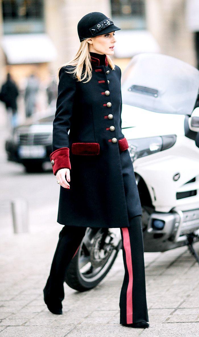 Military style dress pants