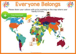 Programming and Planning Resources for Early Childhood Educators - Harmony Day Activity Poster