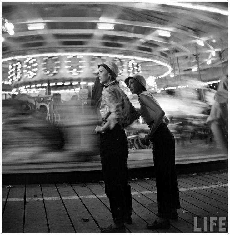 Sophie Malgat and Bettina Graziani; photo by Gordon Parks, 1951
