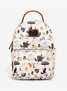 This pink mini-backpack is proof of that - just look at what a good time  those hip cats are having. This pale p…   Wishes! in 2019… e956707407d