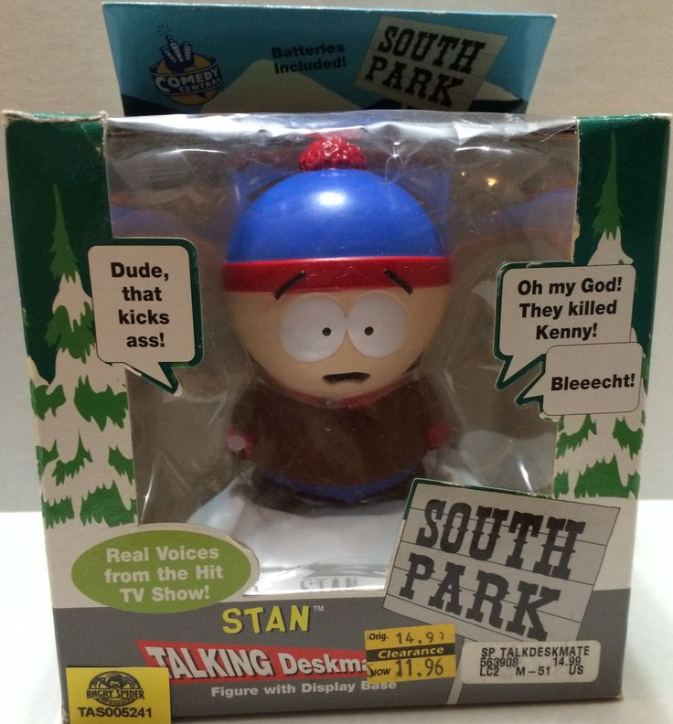 (TAS032766) - Comedy Central South Park Figure - Talking Stan