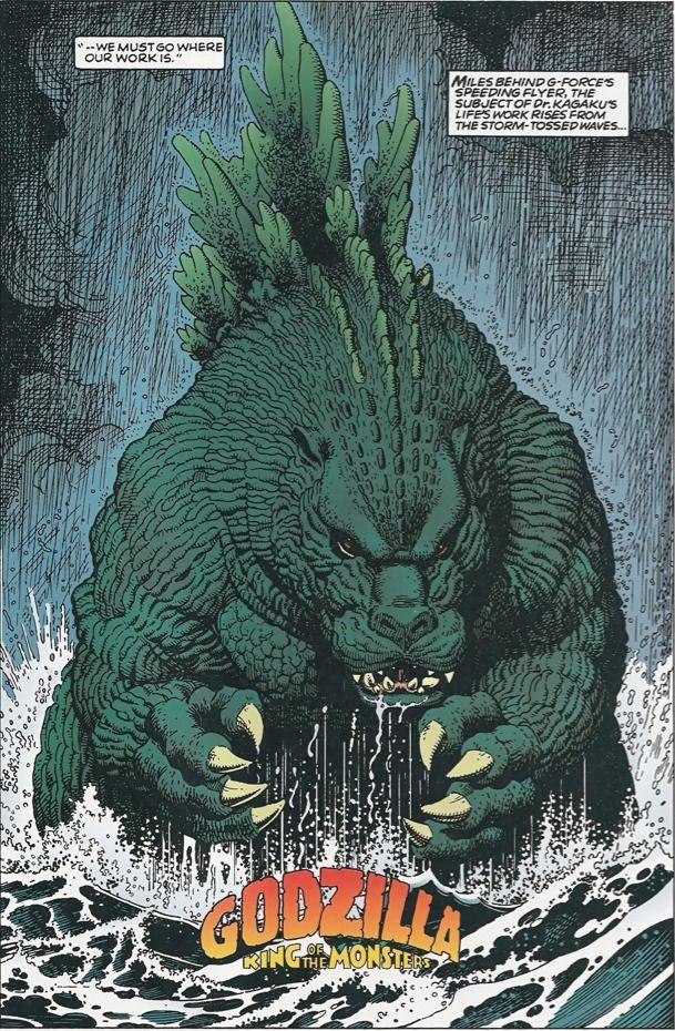 Godzilla - King of the Monsters 1992 by Arthur Adams *