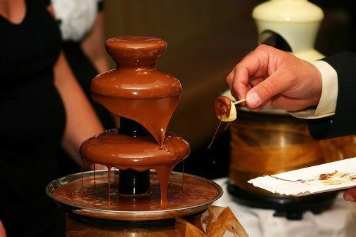 Шоколадный фонтан #kvantil-event
