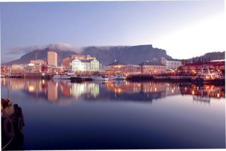 Beautiful Table Mountain waterfront