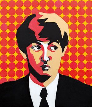 Sound#7, oil on canvas, 53.0×45.5, 2013, for Paul McCartney