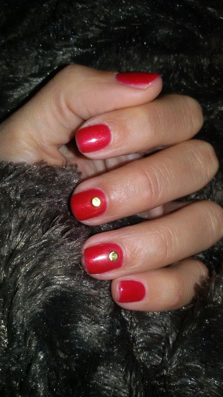 My tack shield nails. May '17