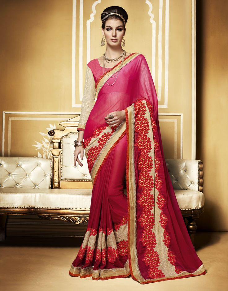The New Come Red Metal Chiffon #Designer #PartyWear #Saree with Dhupian Blouse. Buy Now :- http://www.lalgulal.com/sarees/red-metal-chiffon-designer-party-wear-saree-with-dhupian-blouse-768 Cash On Delivery & Free Shipping only in India.For Other Query Just Whatsapp Us on +91-9512150402 Or Mail Us at info@lalgulal.com.