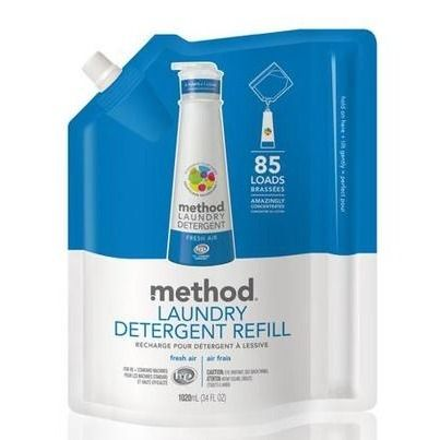 Method Laundry Detergent Refill - Fresh Air: This product is awesome! Great price, fabulous scent, it's good for the environment and not tested on animals! What more could you ask for?