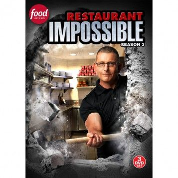 Restaurant: Impossible Season 3 DVD, available at the Food Network Store: Robert Irvine, Movie, Impossible Seasons, Restaurants, Favorite Cooking, Restaurant Impossible, Favorite Television, Dvd Release