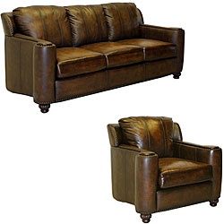 Chaise Sofa This furniture features premium Italian leather and a durable hardwood frame