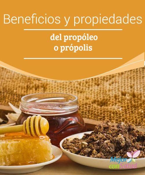 Beneficios y propiedades del propóleo o própolis  El propóleo o própolis es una sustancia pegajosa elaborada por las abejas a partir de resinas y otras propiedades extraídas de las plantas y flores.