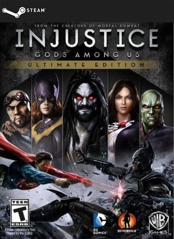 Injustice: Gods Among Us Ultimate Edition - STEAM - WINDOWS / PC GAME