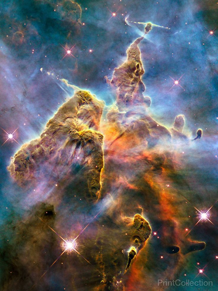 Carina nebula mountaintop. A wall of space images could be amazing.
