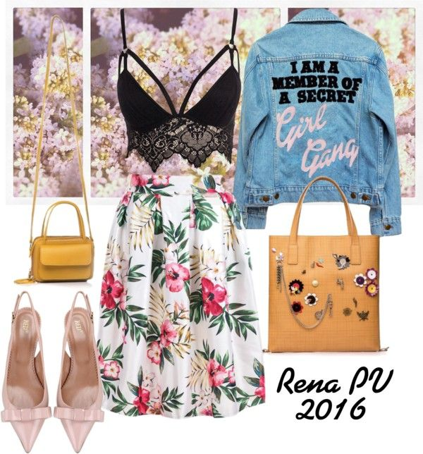 SPRING LOOK #AnaisBag #CarlyBag from RENA on www.rena.ro