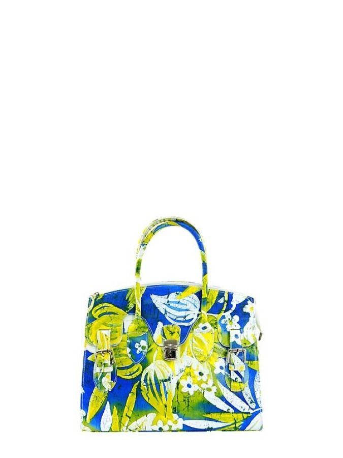 Skórzana torebka o zdecydowanym wzorze dla odważnych kobiet - w sam raz na lato! Elena Andrea 299 PLN   #sale #bag #fashion #ideas #limango