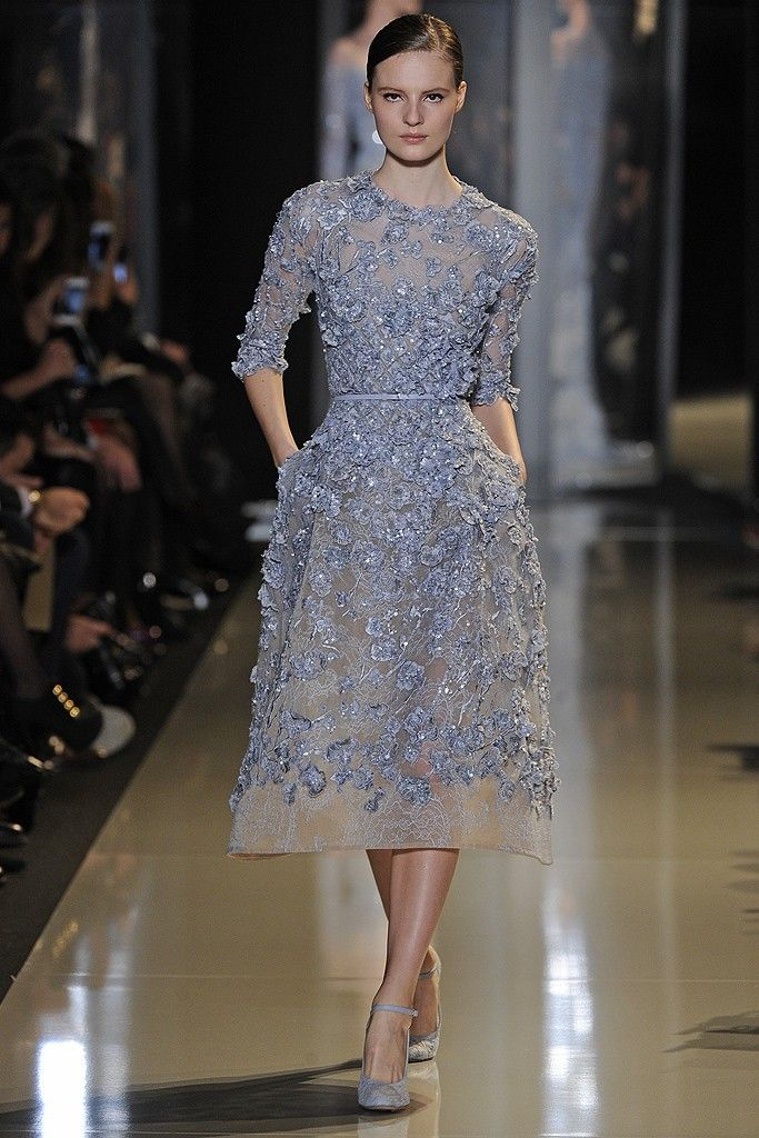 Elie Saab Spring Couture 2013 - Slideshow - Runway, Fashion Week, Reviews and Slideshows - WWD.com