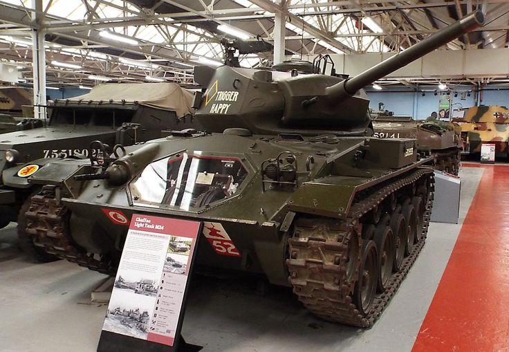 US Chaffee Light Tank M24 1944-95 Tank Museum Bovington