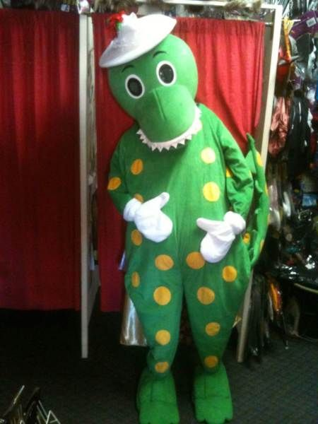 Dorothy the Dinosaur Mascot Costume HIRE Adelaide Glandore Marion Area image 2