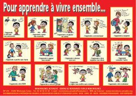 Affiche : Pour apprendre à vivre ensemble...