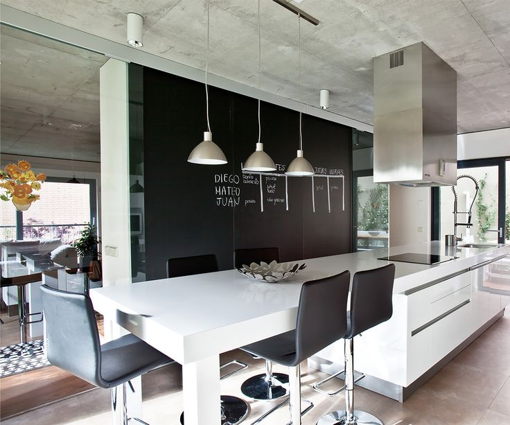 Attached Dining and Kitchen spaces