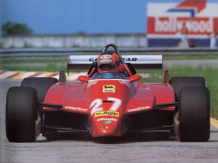 Ferrari 126 C2 Gilles Villeneuve Brazilian GP 1982