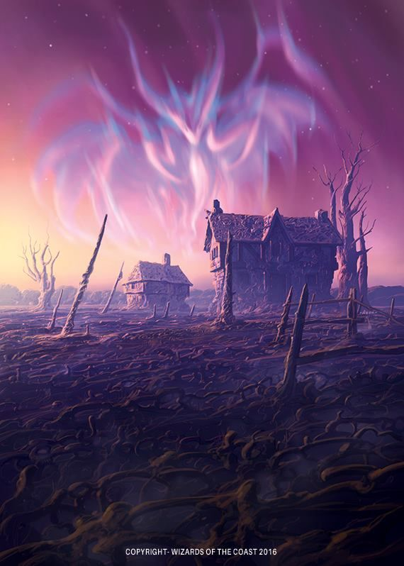 Aurora of Emrakul - Eldritch Moon MtG Art