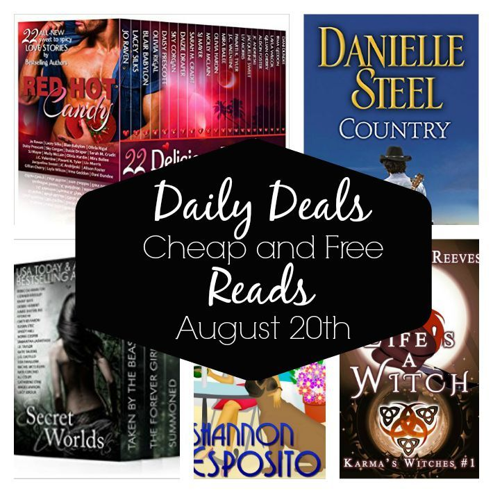 Daily Deals – Cheap and Free Reads August 20th, 2015