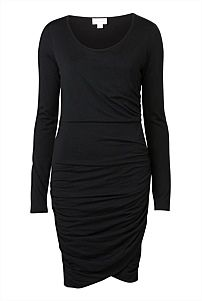 PURCHASED Long Sleeve Ruched Dress witchery