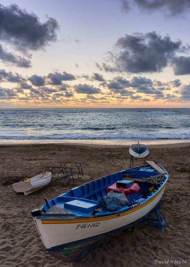 Playa de las Canteras, Gran Canaria.- David Hernández