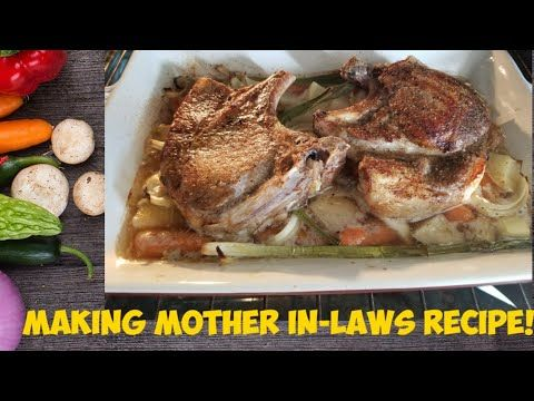 MOTHER IN LAW'S PORK CHOP RECIPE | FULL TIME MOMMY IN CANADA