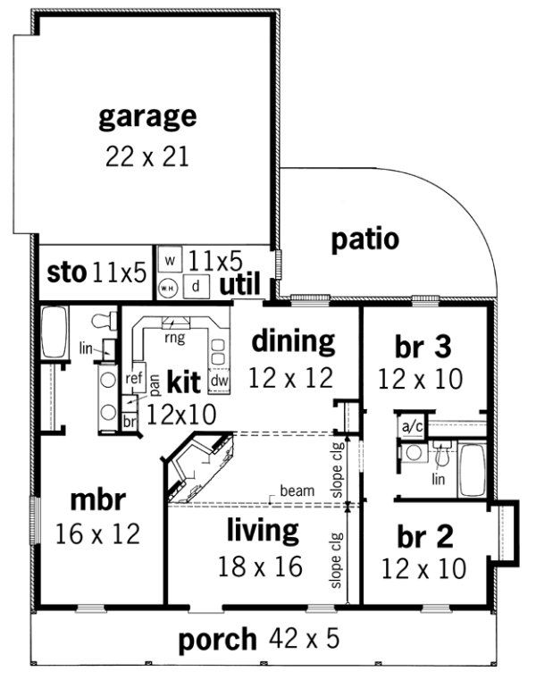 135 best House plans images on Pinterest | Country house plans ...