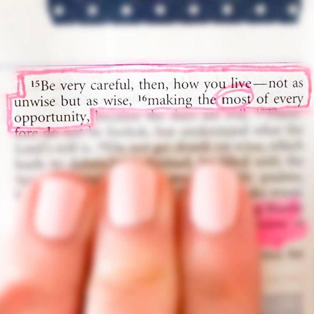 Ephesians 5:16  #SundayABD